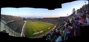 Panorámica Estadio Benito Villamarín - Real Betis Balompie