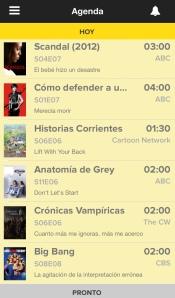Agenda TvShow Time