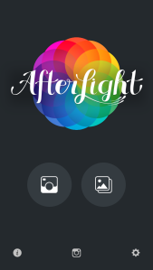 Pantalla Inicio - Afterlight