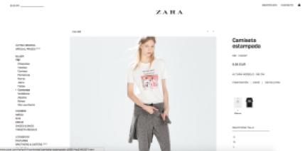 Buscar la prenda - Zara