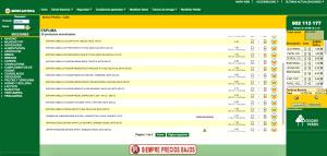 Ejemplo de búsqueda de producto (Espuma)- Mercadona