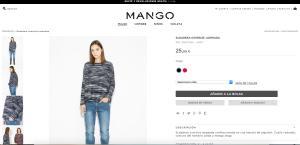 Seleccion del producto - Mango