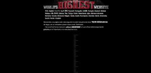 Worlds Highest Website