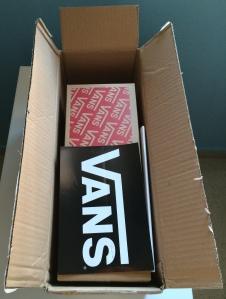 Caja UPS Abierta - Vans