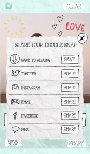 Compartir - Doodle Snap