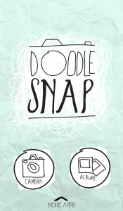 Página Inicial - Doodle Snap