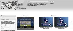 Web - Live Football