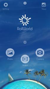 Elegir entre Fotografía, vídeo o cámara - RollWorld