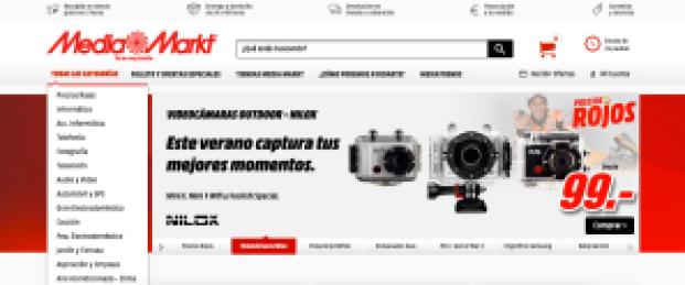 Pantalla Inicial - Media Markt