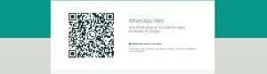 Código QR - WhatsApp Web