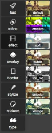 Effect - Pixlr