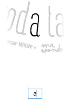 Selección de caracter - My Fonts