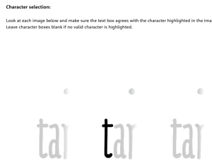 Selección de caracteres - My Fonts