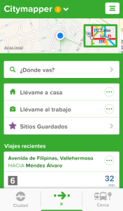 Inicio - Citymapper