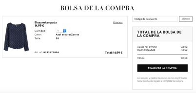 Bolsa de Compra (2:2) - H&M