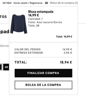 Bolsa de Compra - H&M