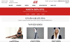 Página inicio - H&M