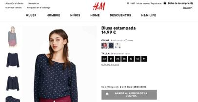 Producto Seleccionado - H&M